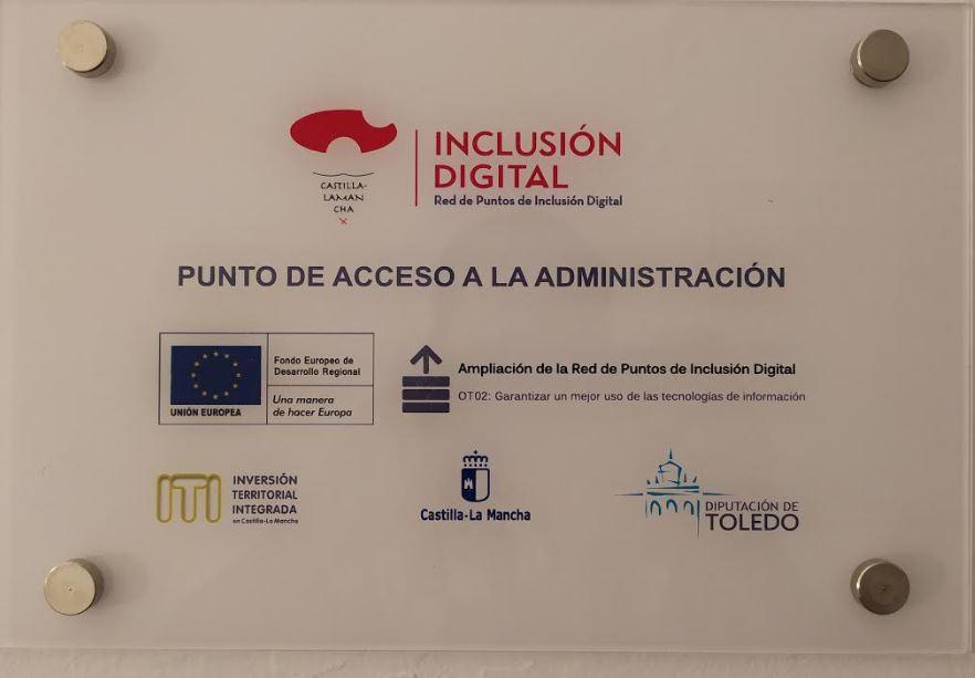 Punto de Inclusión Digital en el Biblioteca Municipal de Lillo